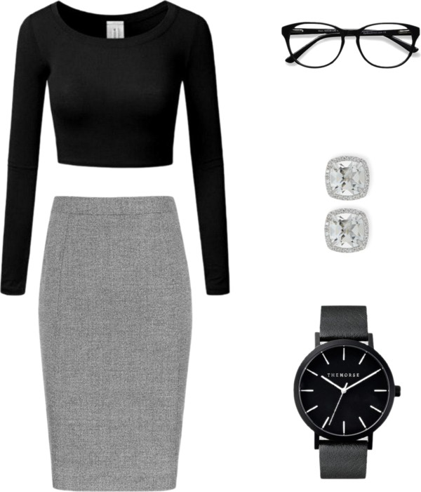 Simple boss lady lookbook