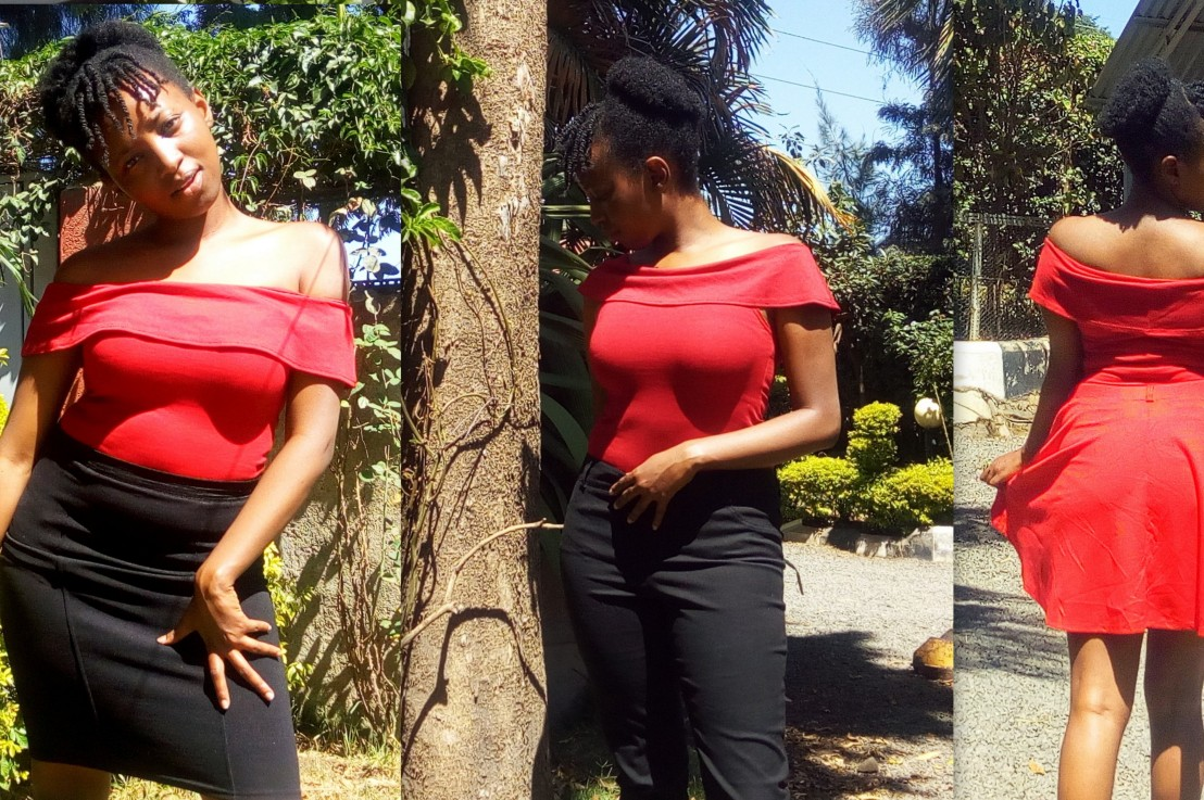 HOW TO STYLE A RED BODYSUIT 3WAYS