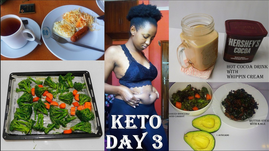 WHAT I EAT IN A DAY|KETO DAY 3